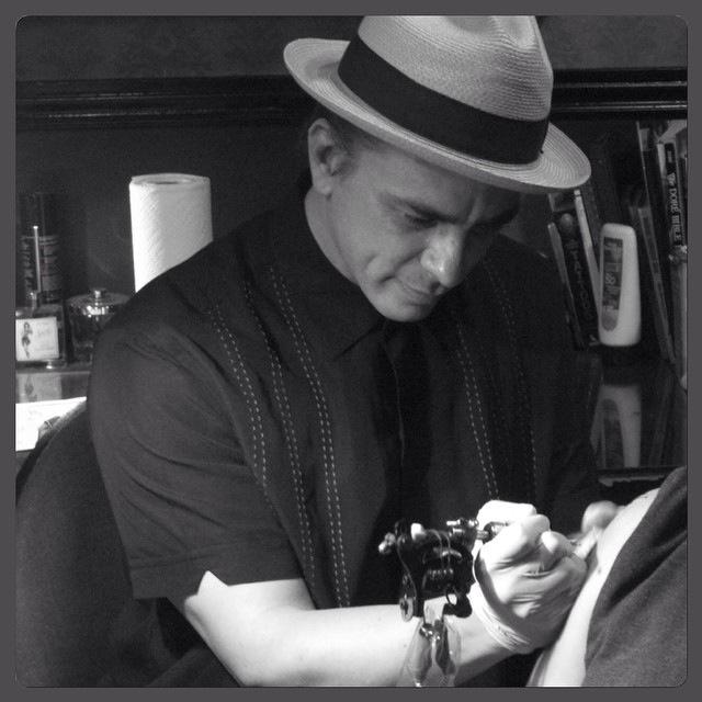 Tattoo Artist at Play