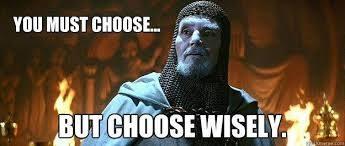 Indiana Jones Chose Wiseley