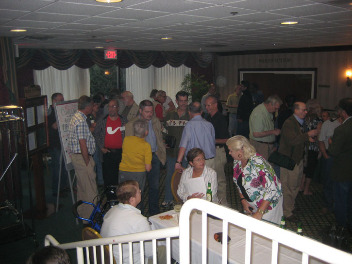 People Start to Gather in the Smoke Filled Room