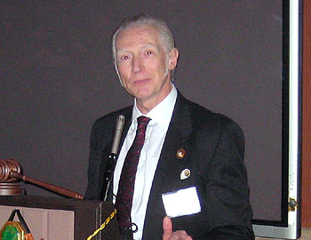 Matt Guss, Seattle Pipe Club President