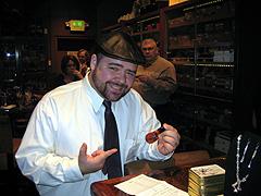 Kevin Kaplan, Club Auctioneer