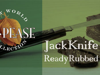 JackKnife ReadyRubbed Tobacco from G.L. Pease