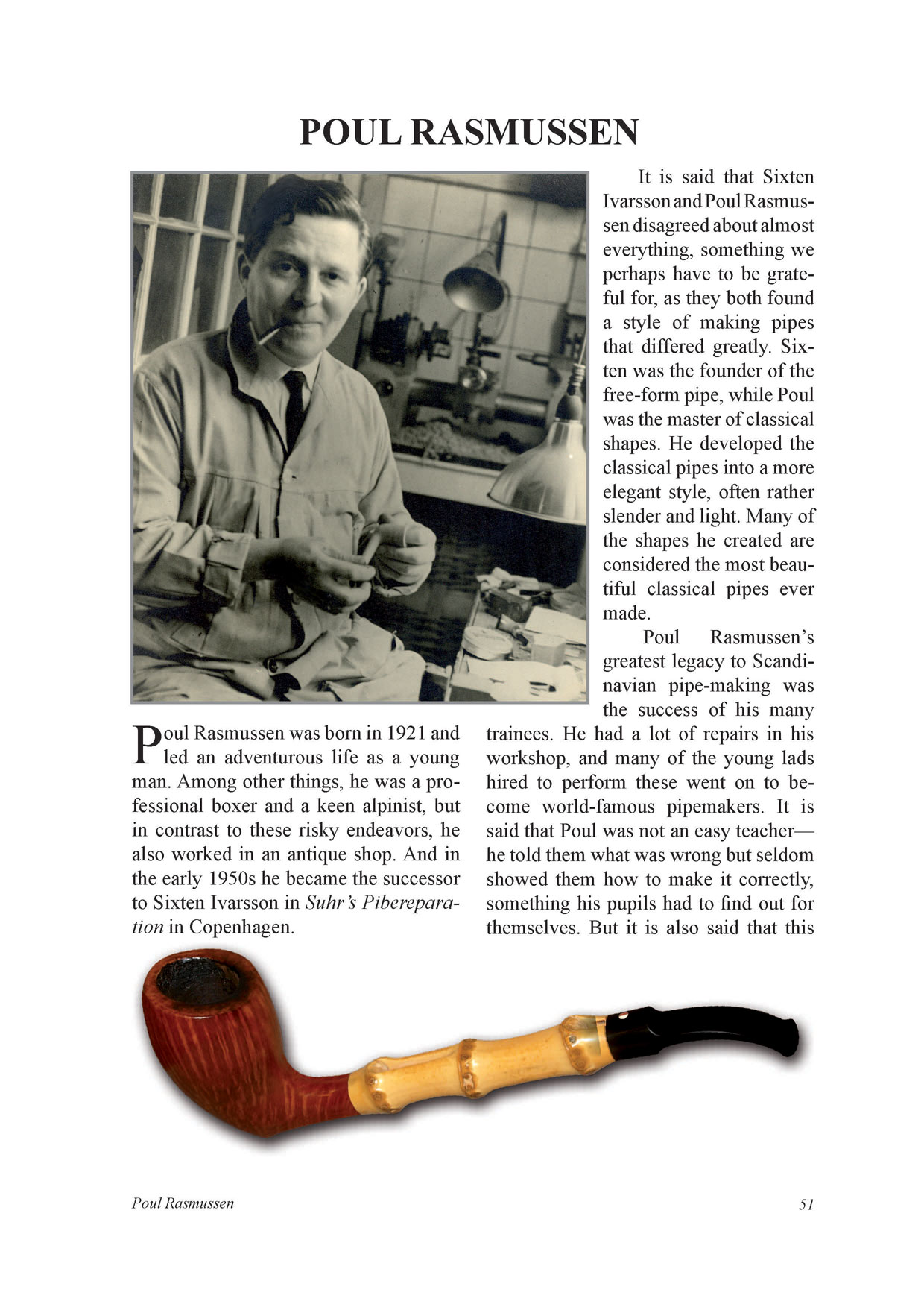 New Book Scandinavian Pipemakers by Jan Andersson