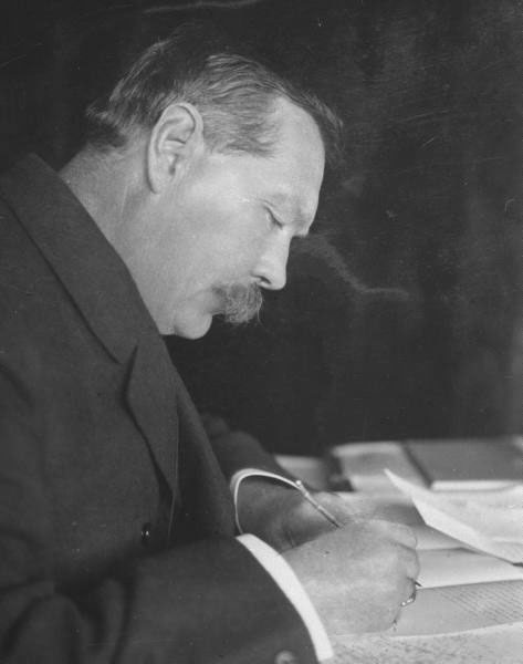conan doyle 3 essay Sherlock holmes is a fictional private detective created by british author sir  arthur conan doyle  using conan doyle's stories as data, he applied three  methods to estimate the detective's intelligence quotient and concluded that his  iq was.