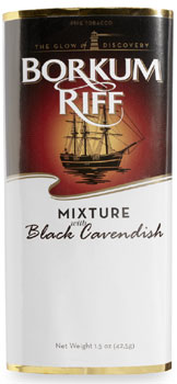 Borkum Riff Black Cavendish Pipe Tobacco