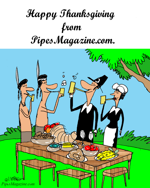 Happy Thanksgiving from PipesMagazine.com   PipesMagazine.com