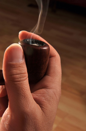 how to make a fake smoking pipe