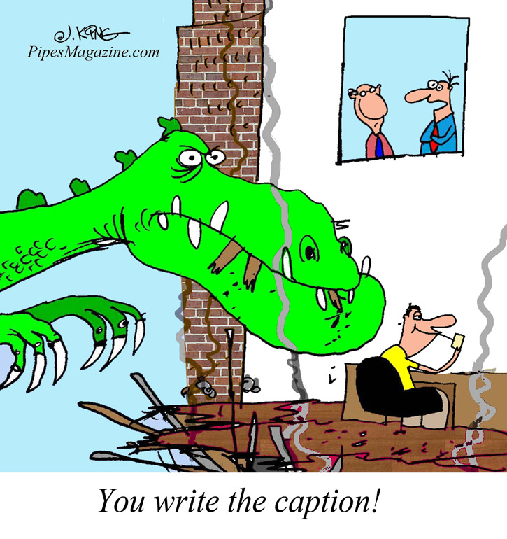 Pipesmagazine.Com Cartoon Caption Contest Entry Form | The #1