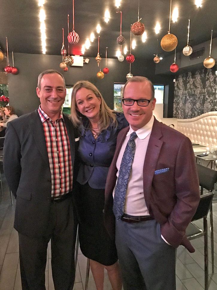 Brian Levine, Lori Brown, & Kevin Godbee