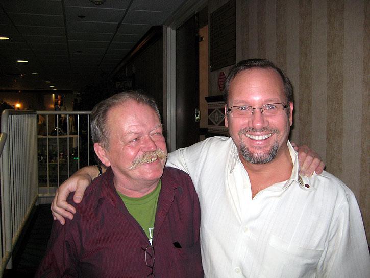 Pipe Artisan Peter Heeschen & PipesMagazine.com Owner Kevin Godbee