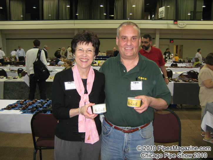 Mary McNiel from McClelland & Tad Gage with two versions of 3 Oaks