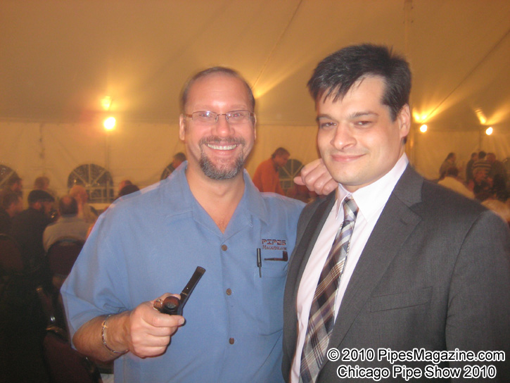 Kevin Godbee & Sykes Wilford at the SmokingPipes.com 10th Anniversary Party