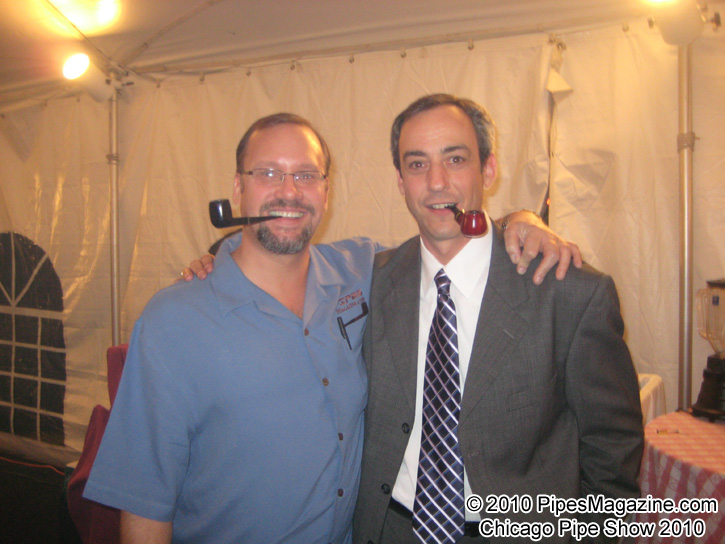 Kevin Godbee & Brian Levine at the SmokingPipes.com 10th Anniversary Party