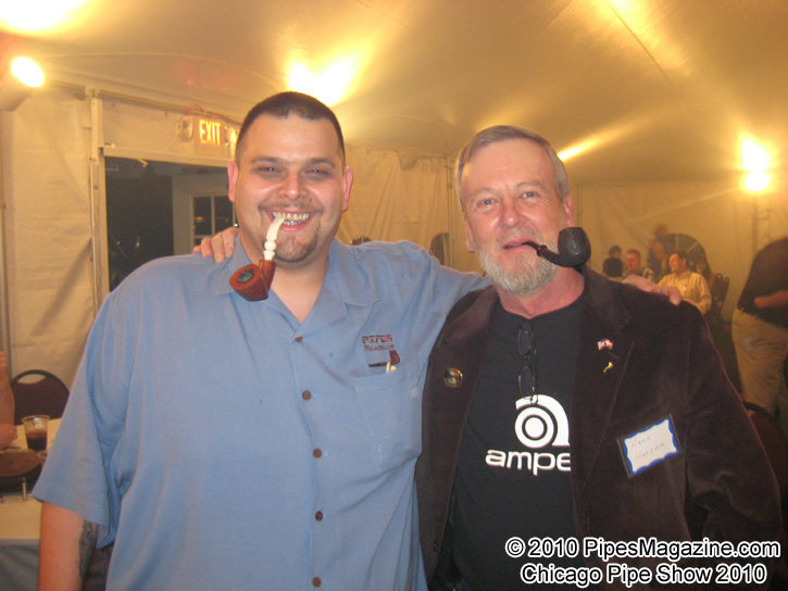 Bob Tate & Hans Hansen (Group7 on PM.com) at the Party