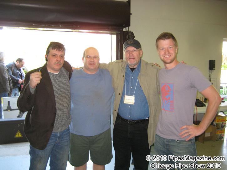 Alex Florov, Brian Ruthenberg, Rex Poggenpohl, Jeff Gracik