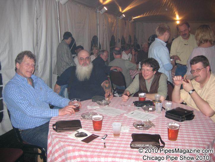 The Smoking Tent