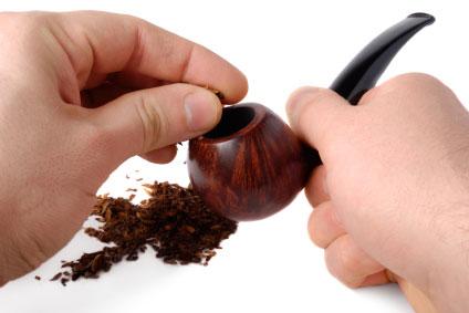 Filling Pipe Tobacco