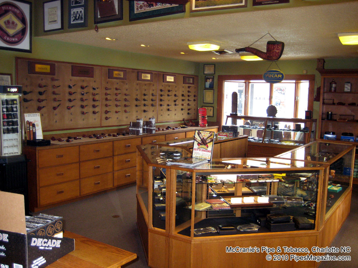 Mccranie S Pipe And Tobacco Shop Charlotte Nc Pipes
