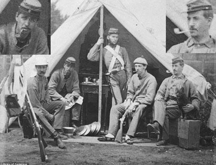 Old civil war photo featuring two pipe smokers general discussion old civil war photo featuring two pipe smokers general discussion pipe smokers forums thecheapjerseys Choice Image