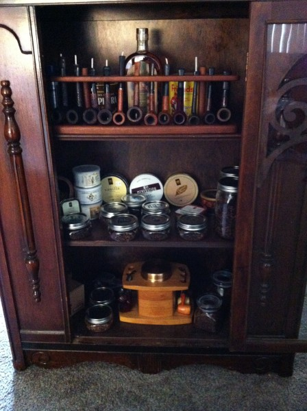 Bon Pipe Cabinet Open Door