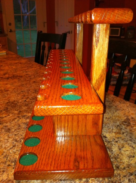 Building a Pipe Rack - What Type of Wood to Use? :: Pipes ...