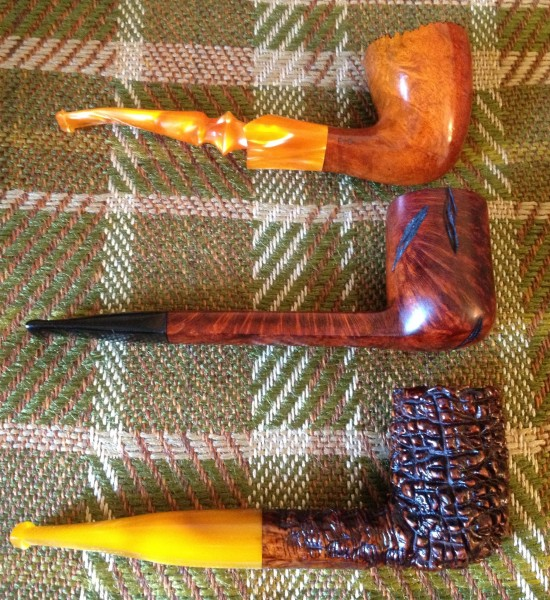 the top one is a Lorenzo R 10  and the middle on is an Israeli no name spot  carved Canadian  which is marked with. Pipe Identification    General Pipe Smoking Discussion    Pipe