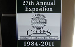C.O.R.P.S. Pipe Show Richmond VA 2011