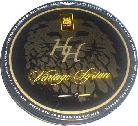Mac Baren HH Vintage Syrian Pipe Tobacco Tin