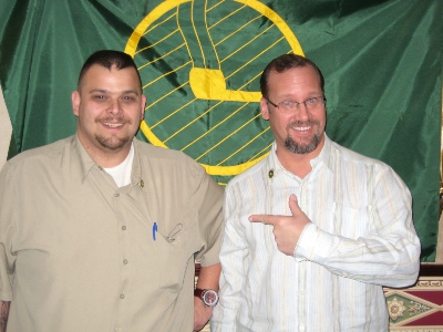 (left to right) Bob Tate, Kevin Godbee