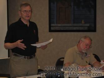 Vernon Vig (President) & David Bull (Secretary/Treasurer)