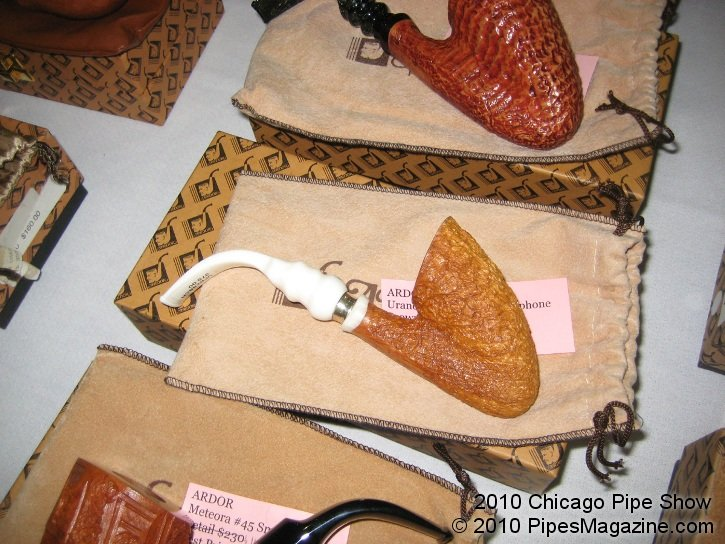 Some Ardor Pipes for Sale at the Pre-Show