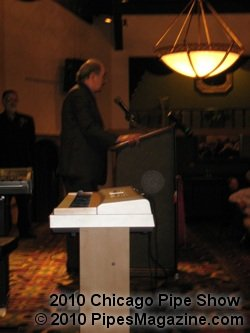 Alan Schwartz Giving His Speech