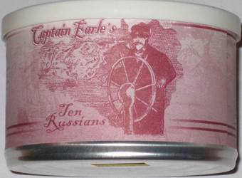 Hermit Tobacco - Capt. Earle's Ten Russians