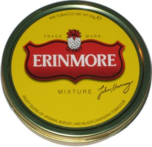 Erinmore Mixture Pipe Tobacco Tin
