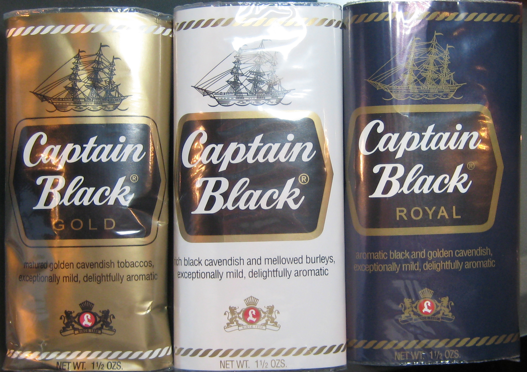 Captain Black Pipe Tobacco Review | pipesmagazine com