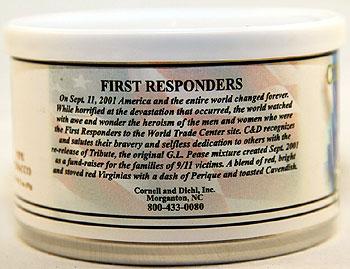 Cornell & Diehl First Responders Tin Description