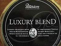 Peterson Luxury Blend Pipe Tobacco Review