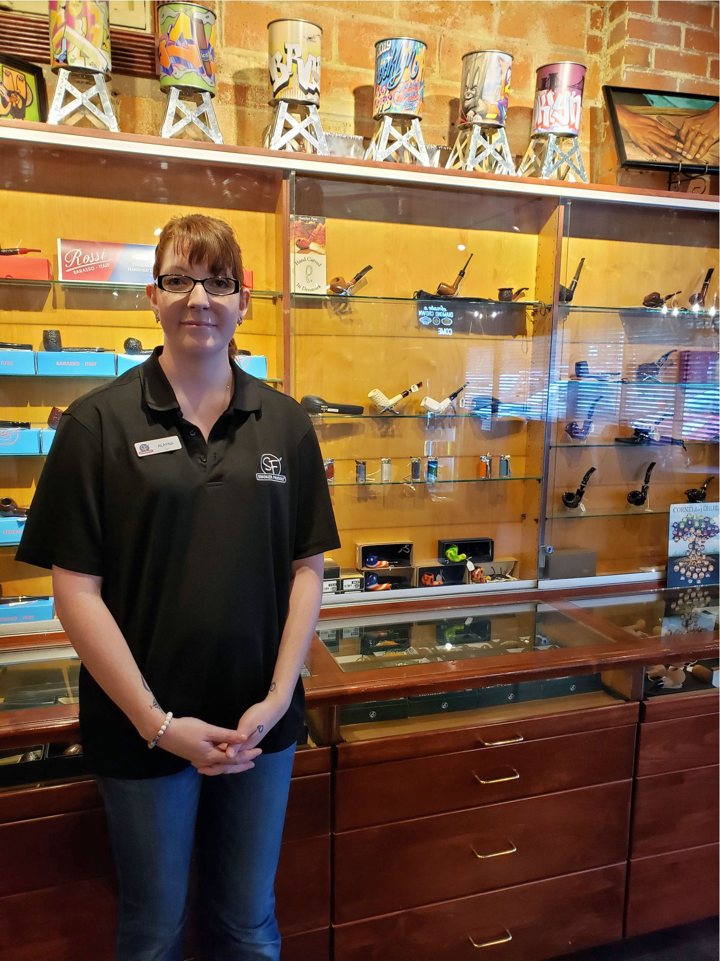 Havana Manor Store Manager Alayna Myers