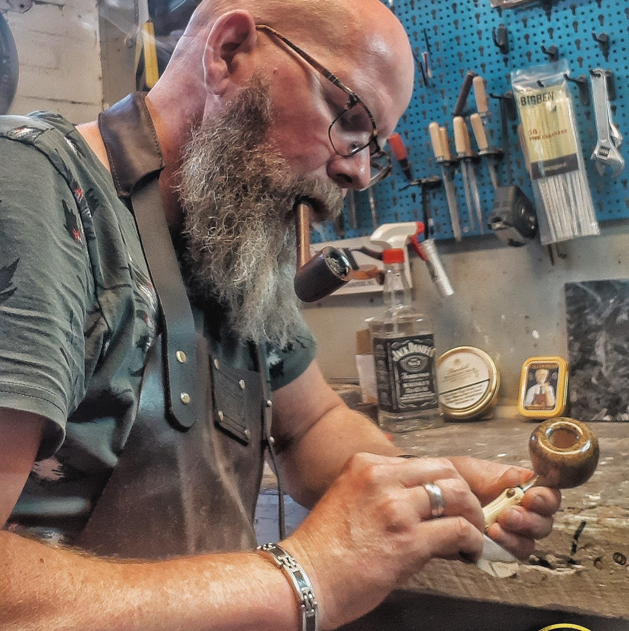 Martin Romijn - Pipe and Tamper Maker