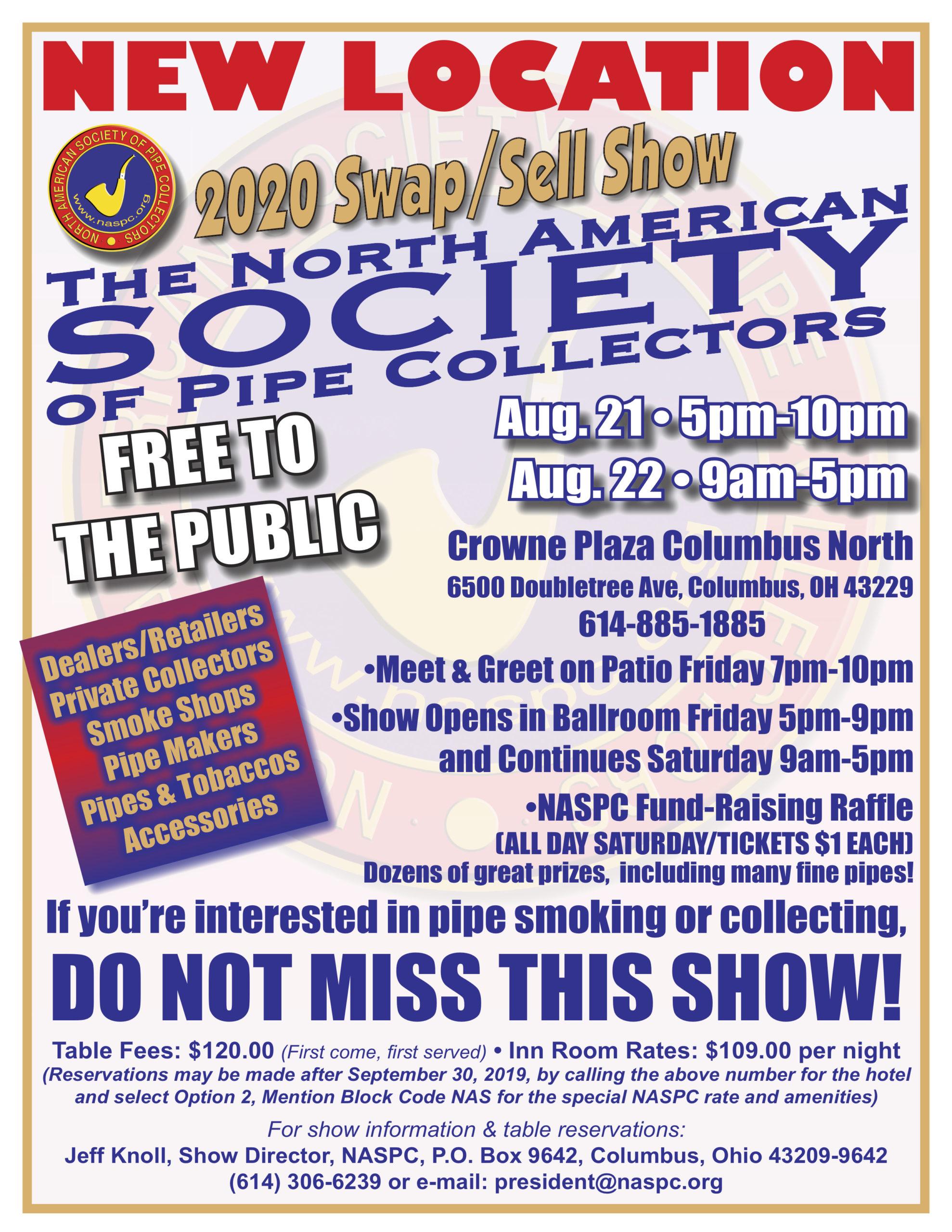 2020 NASPC Show Flyer