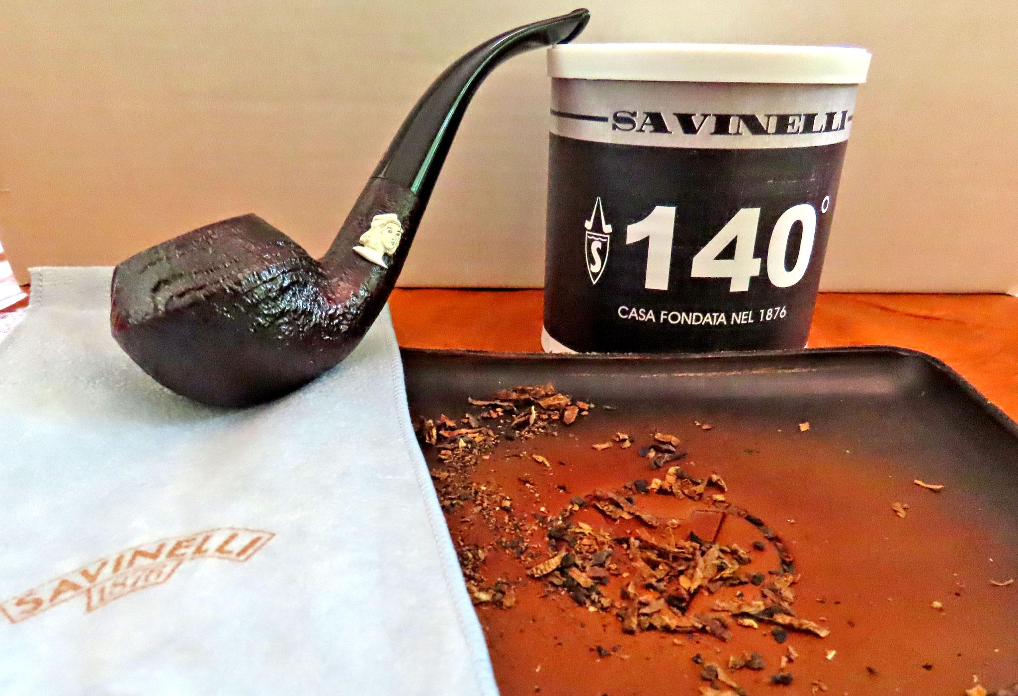 Savinelli's 140th Anniversary blend