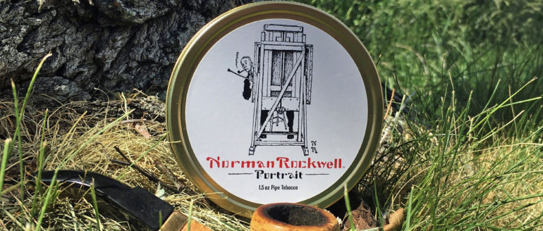 """Norman Rockwell """"Portrait"""" Tobacco Review"""