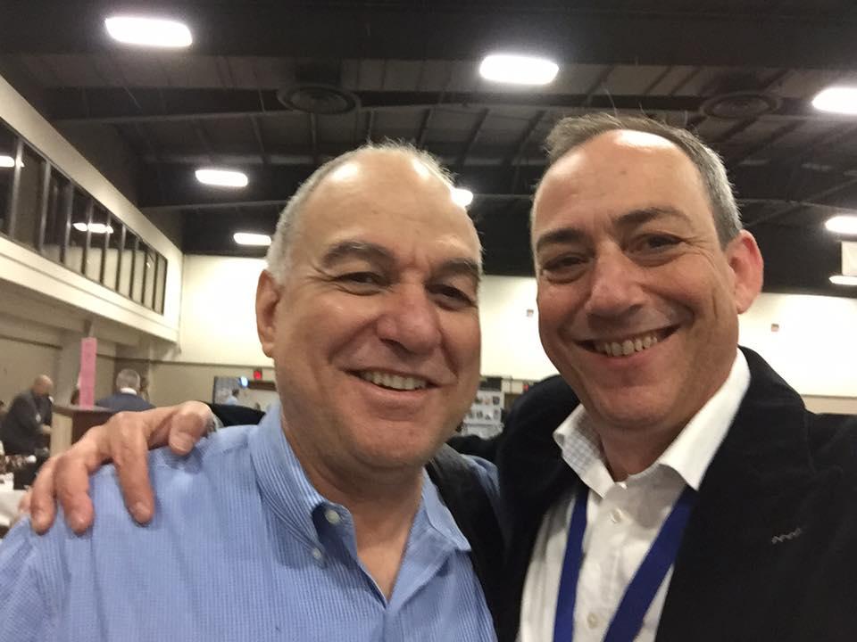 Fred Hanna (L) & Brian Levine