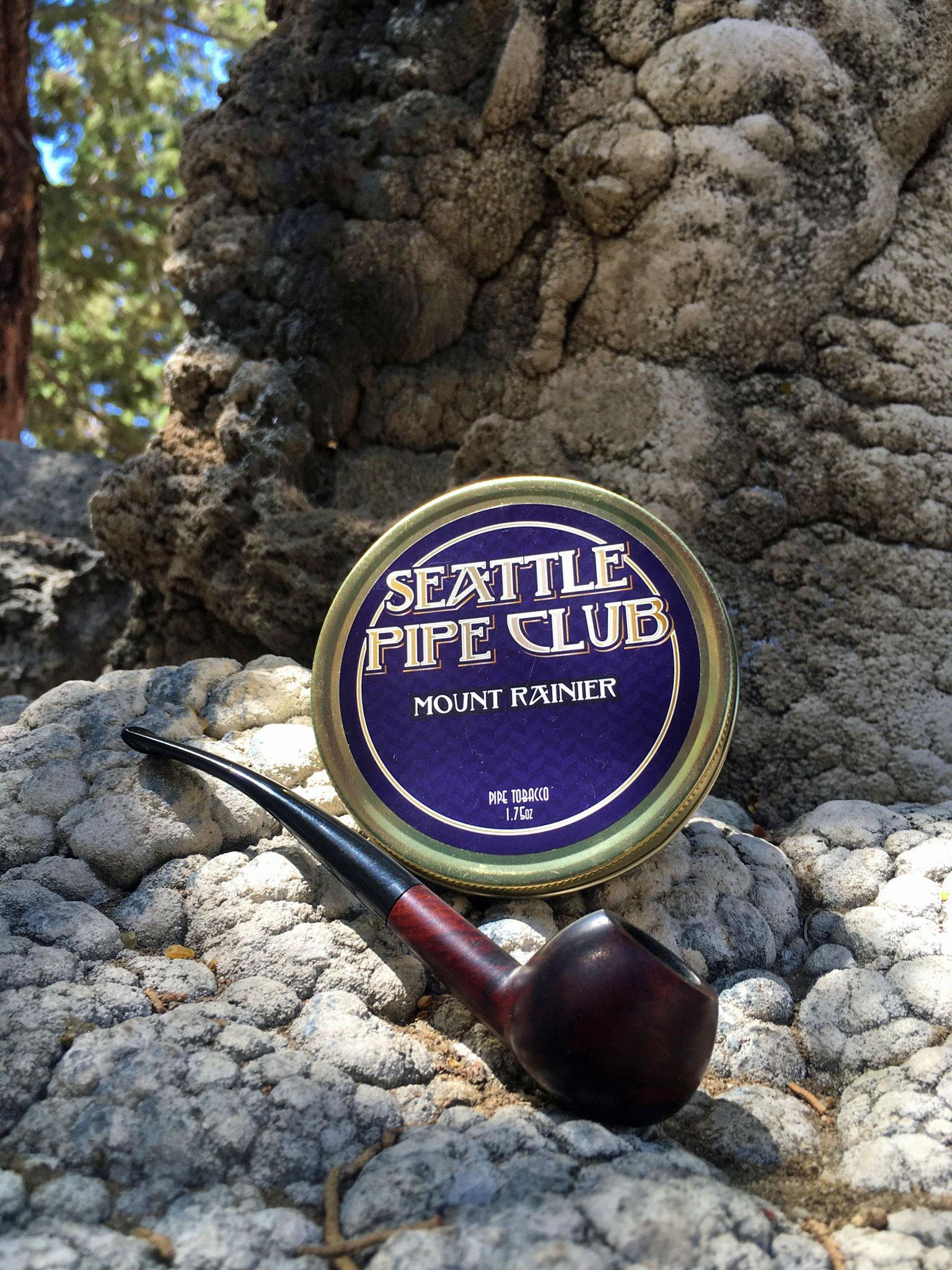Seattle Pipe Club Mount Rainier