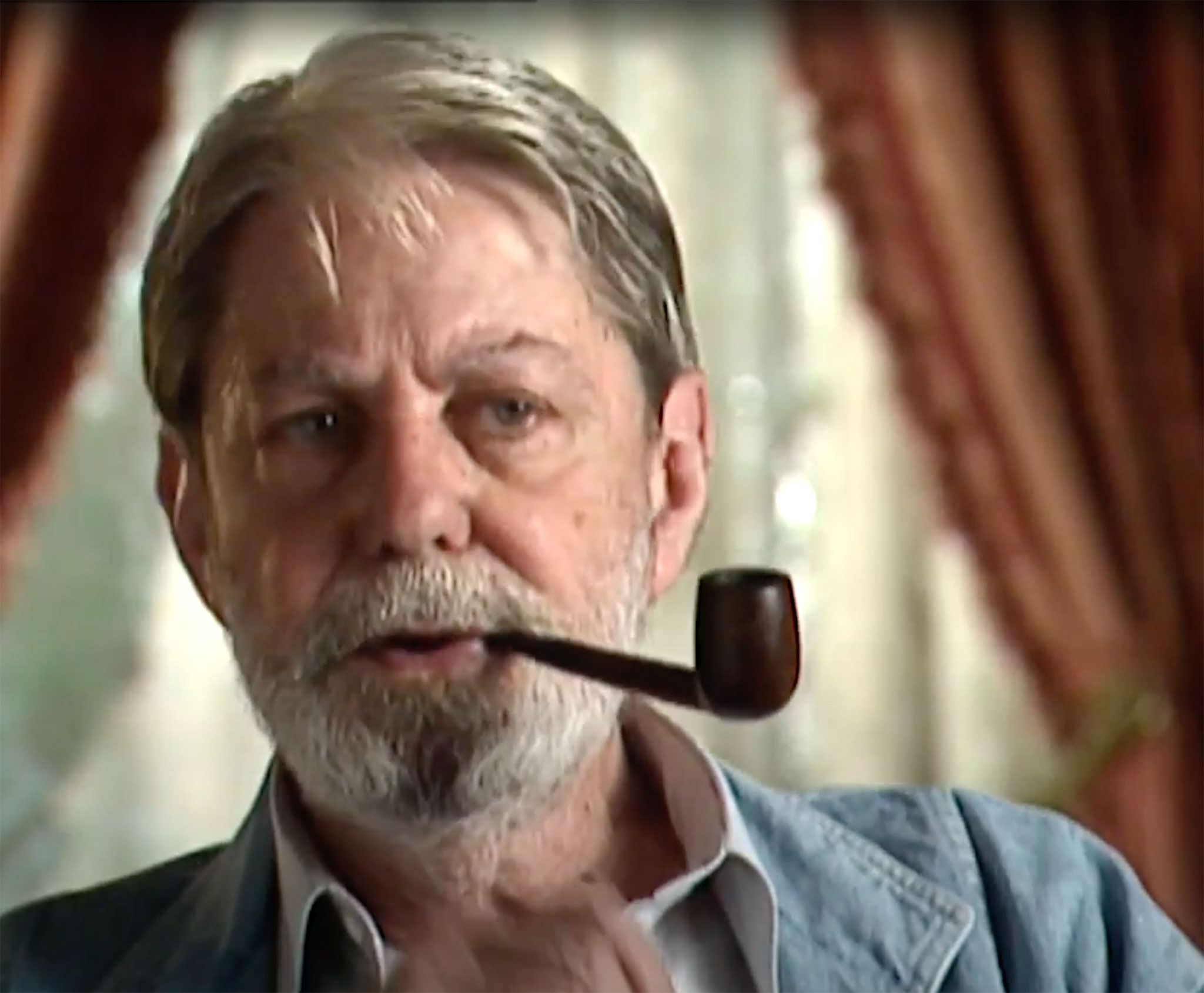 Shelby Foote Screen Capture from Mississippi Public Broadcasting Interview