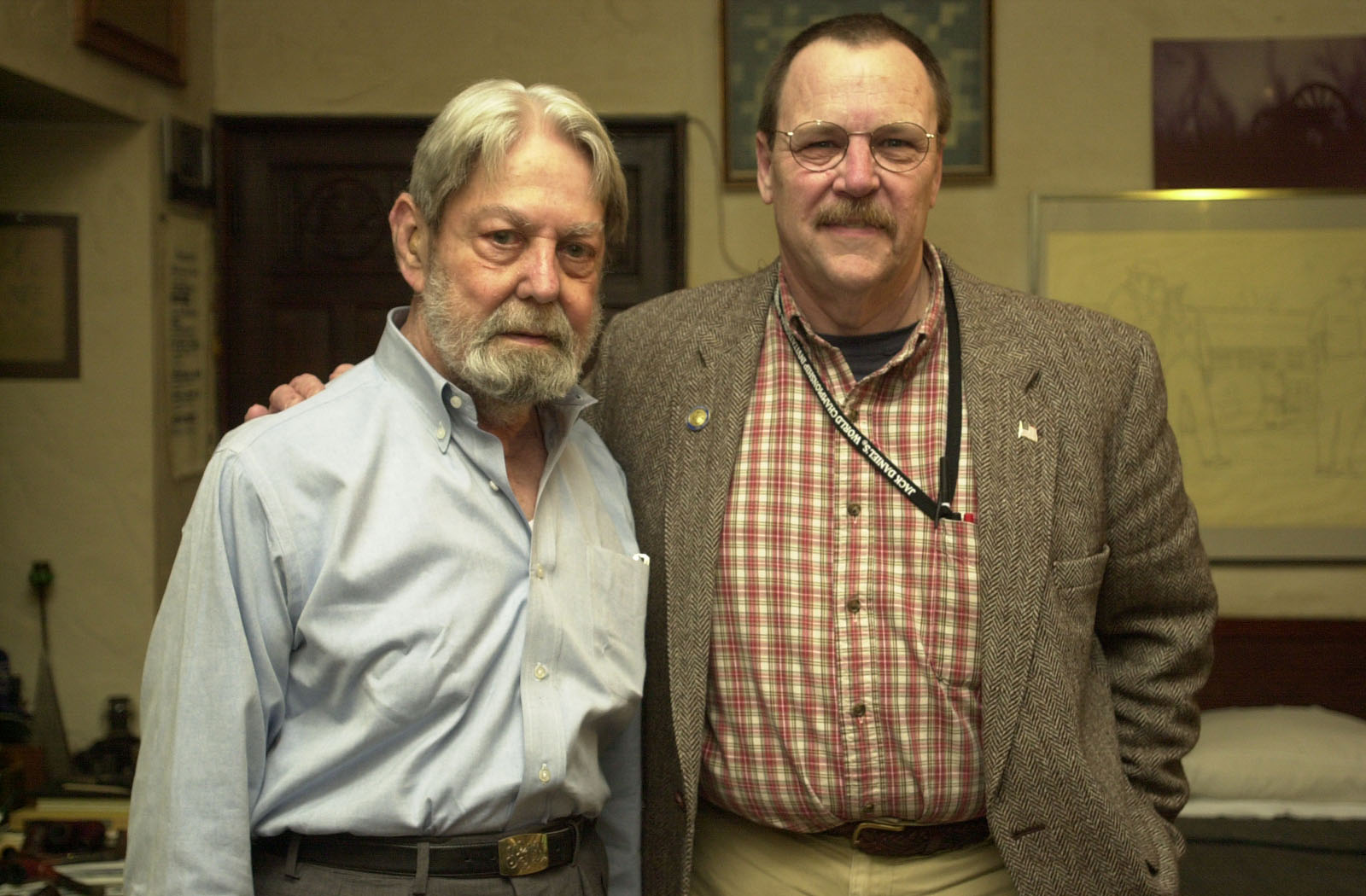 Shelby Foote & Fred Brown