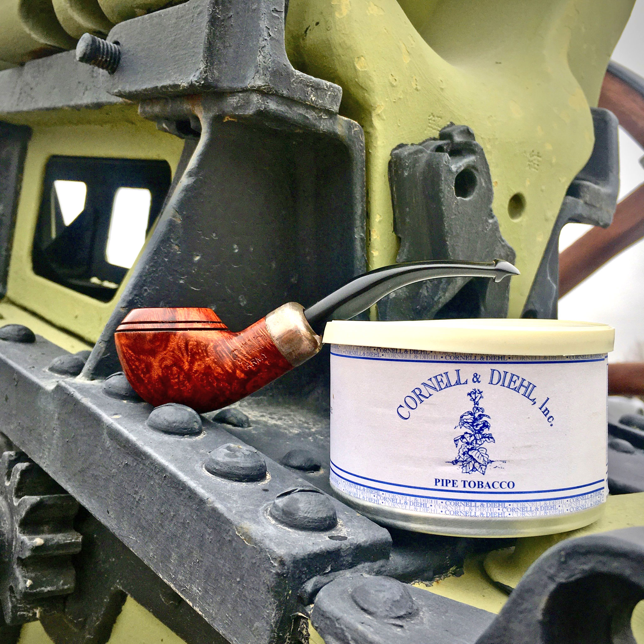Peterson Army Mount with Yale Mixture 2010