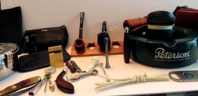 Some of the Author's Pipes & Accessories