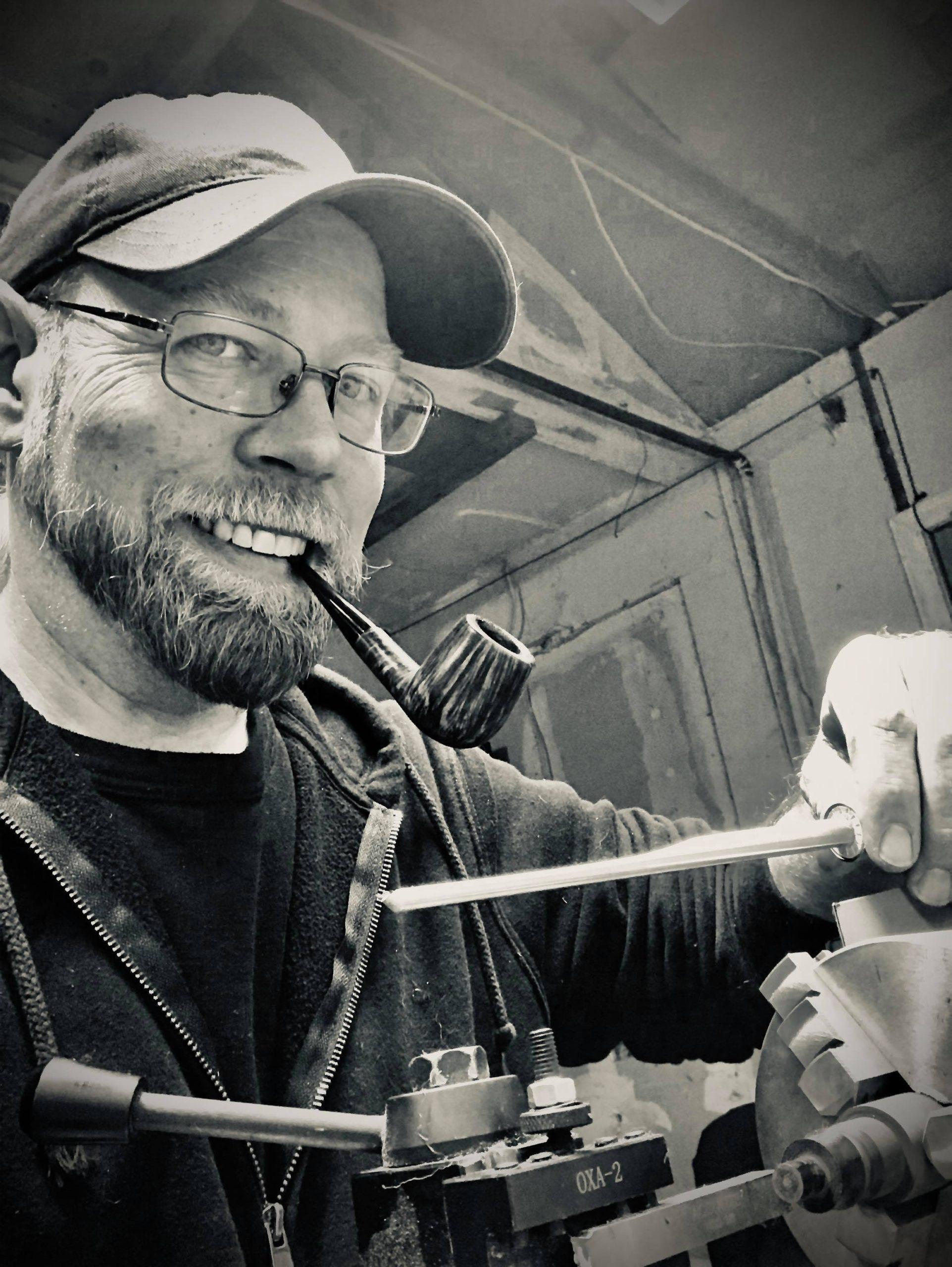 Pipe Maker Rob Dickey
