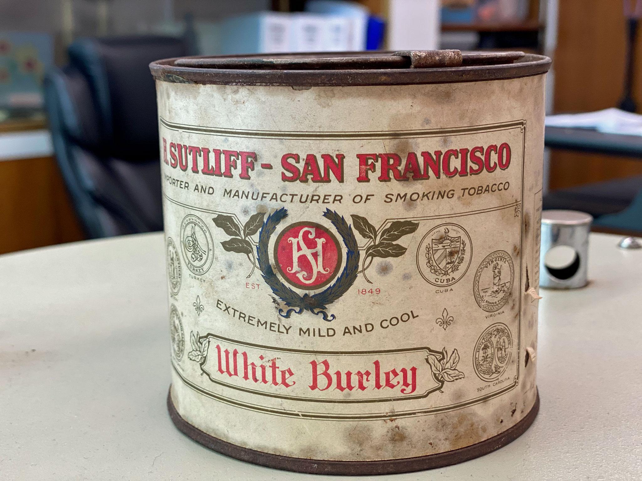 Sutliff Vintage White Burley